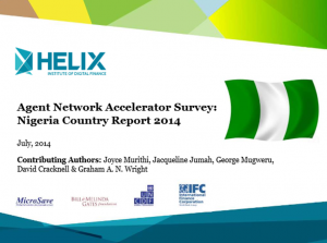 Agent Network Accelerator Survey: Nigeria Country Report 2014