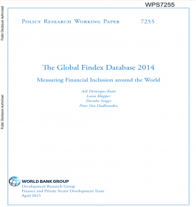 The Global Findex Database 2014